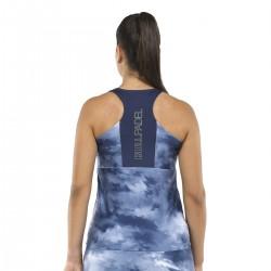 T-SHIRT BULLPADEL Femme Egia Azul Abyss