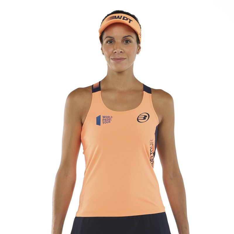 Women's T-SHIRT BULLPADEL WPT Yali Orange Fluo