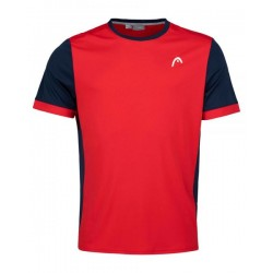 HEAD DAVIES RED PADDLE SHIRT