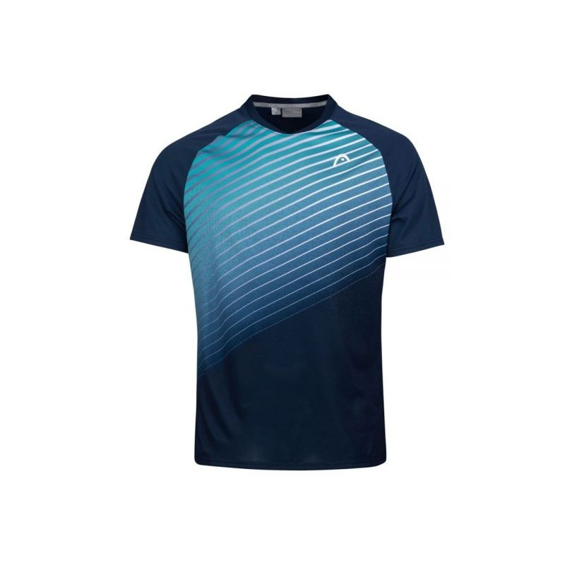T-SHIRT PADEL HEAD Perf T-Shirt Bleu / Vert