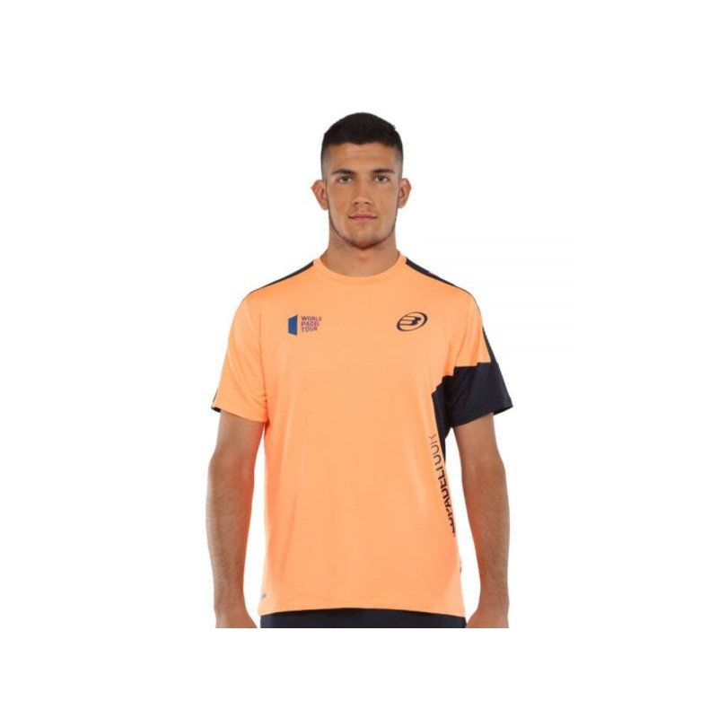 BULLPADEL WPT T-SHIRT Men Viani Orange Fluo