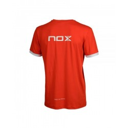 T-shirt de Padel NOX TEAM rouge Homme