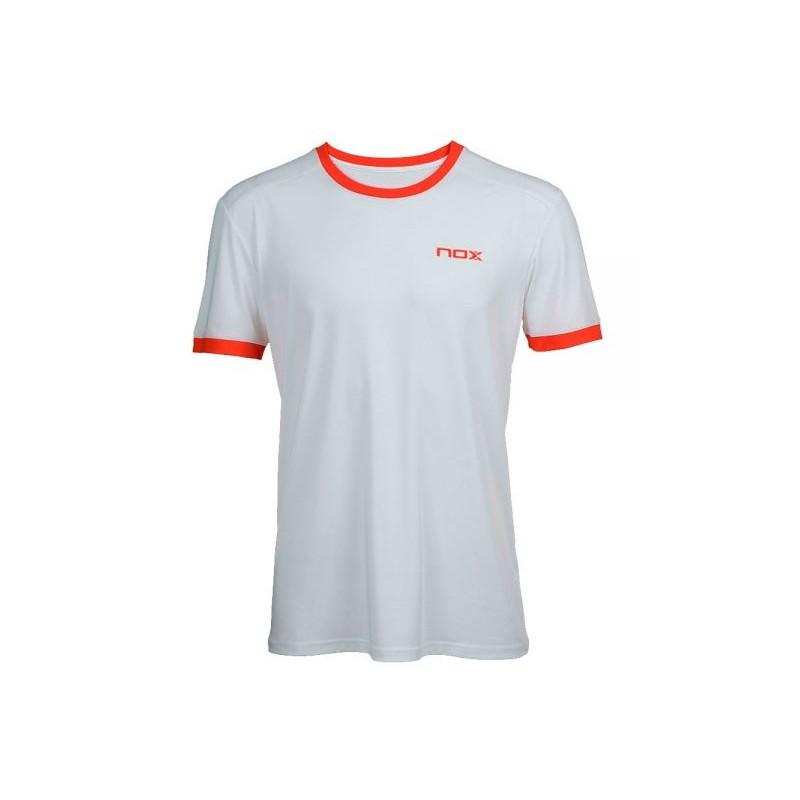 T-shirt de Padel NOX TEAM Blanc Homme