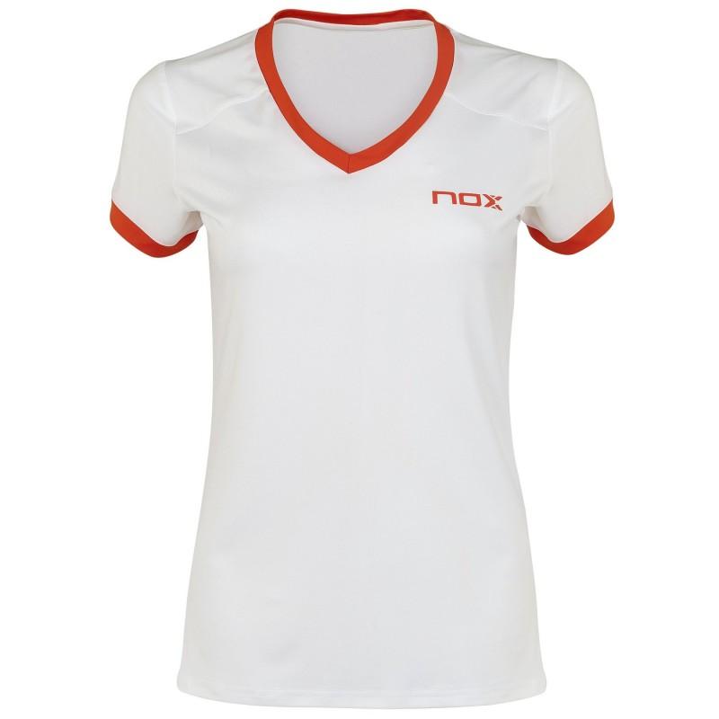 T-shirt de Padel NOX TEAM Blanc Femme