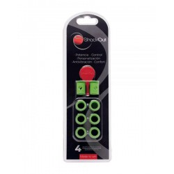 Anti vibrateurs Shockout vert
