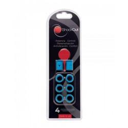 Anti vibrateur de Padel Shockout Bleu