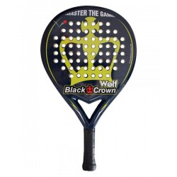 BLACK CROWN Wolf Padel Racket