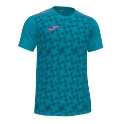 Joma T-shirt open III turquoise