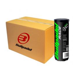 Carton de 24 Boites de Balles Bullpadel Premium Race