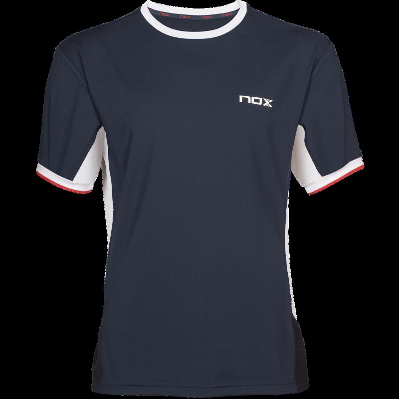 NOX Camiseta Pádel Hombre Azul Marino