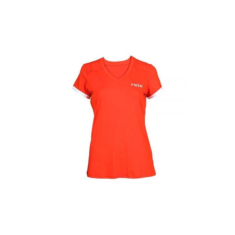 Camiseta de pádel y tennis TEAM roja