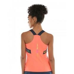 Women's Tee Shirt BULLPADEL Serenis Pomelo fluor